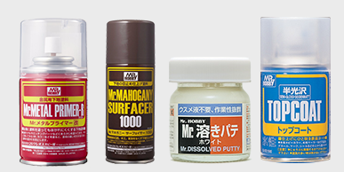 TOP COAT / SURFACER / PUTTY / CEMENT